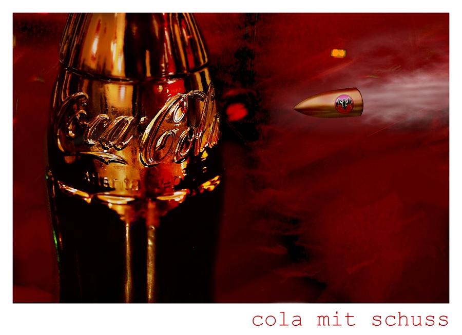 cola mit schuss