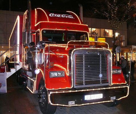 Cola Weihnachtstruck