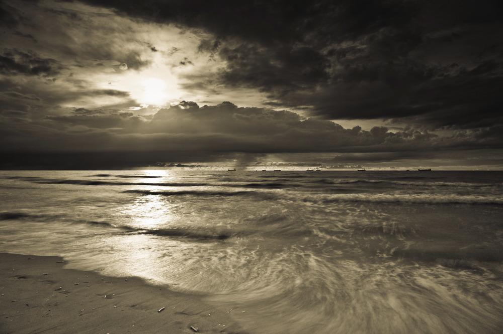Cold and Grey, North Sea, 2013