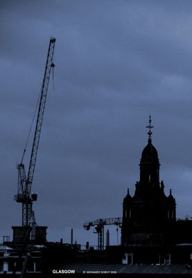 Cold, Dark and Rainy Glasgow 1