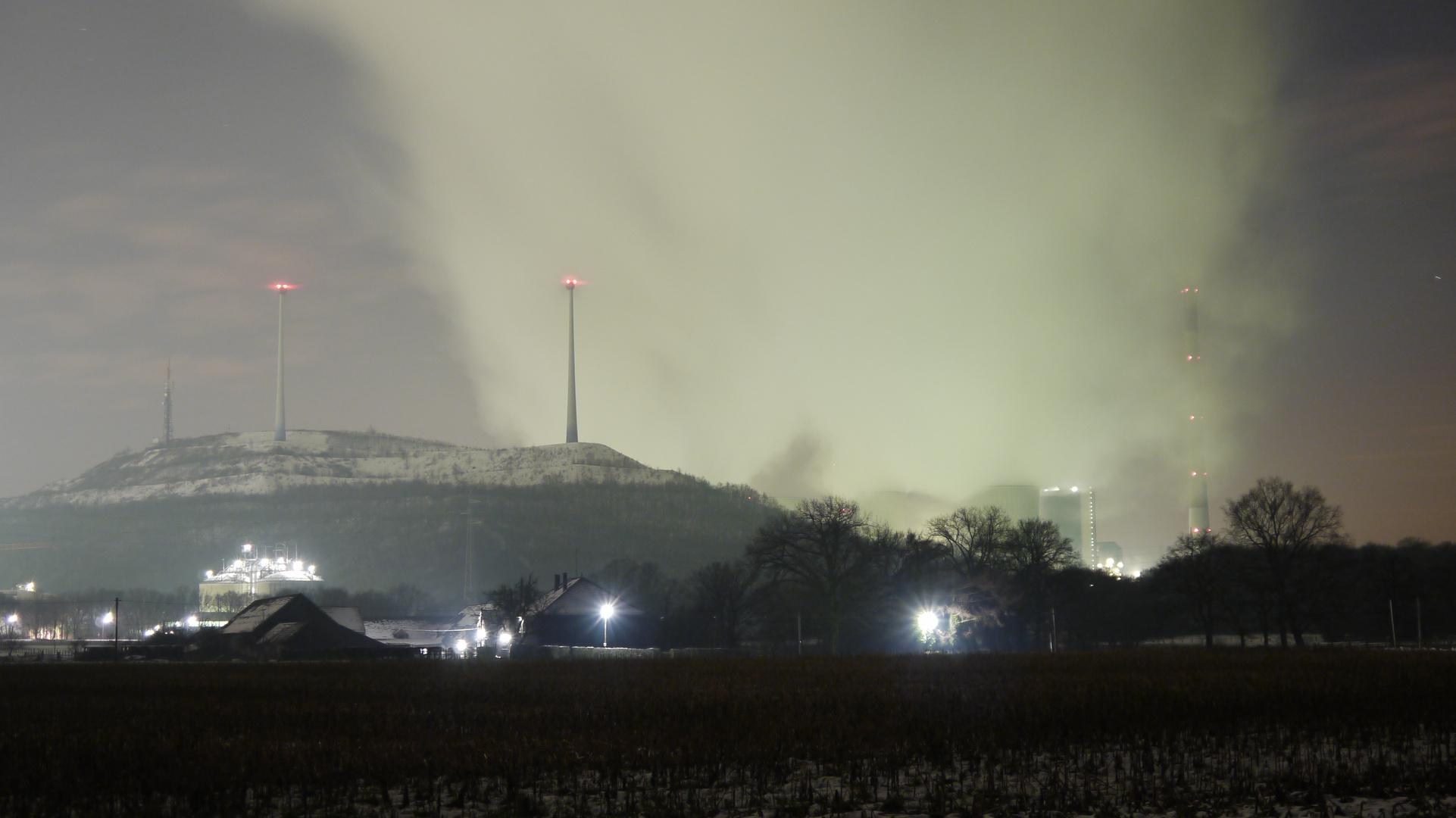 Cold- Nachts in Gelsenkirchen Scholven
