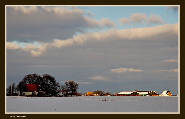 Cold winter afternoon..