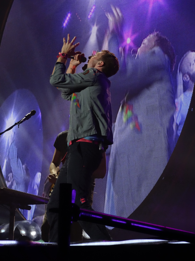 Coldplay in Hannover 22.09.2012, Chris Martin, mylo xyloto Tour