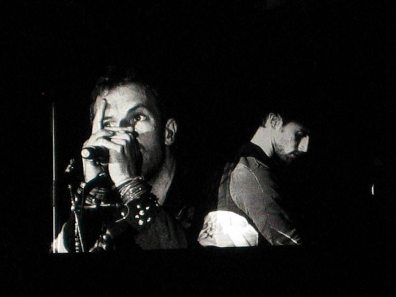 Coldplay live Munich 2009