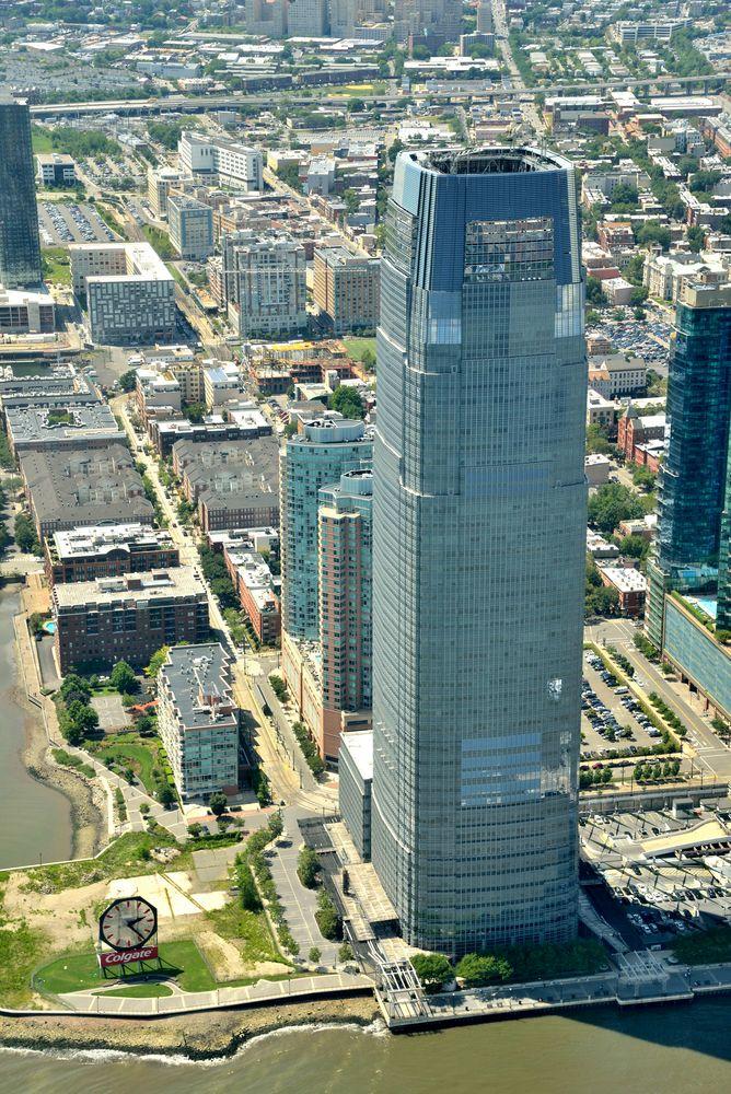 Colgate Clock at Goldman Sachs