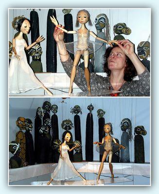 """Collage 1 zum Thema """"Puppen"""""""