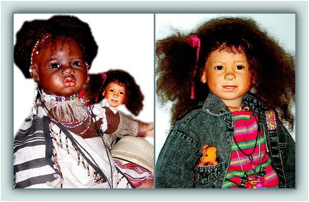 """Collage 12 zum Thema """"Puppen"""""""
