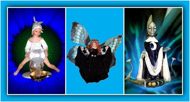 """Collage 13 zum Thema """"Puppen"""""""