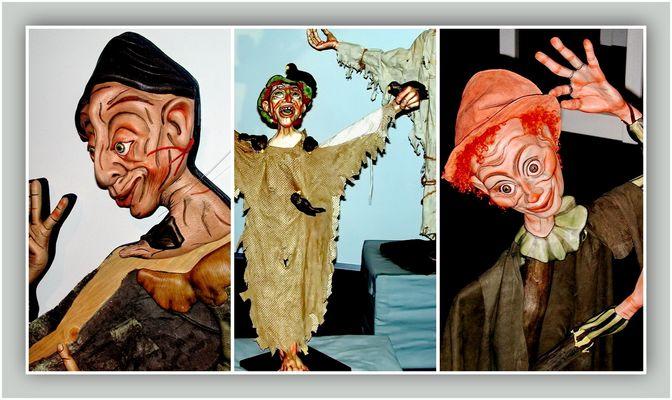 """Collage 2 zum Thema """"Puppen"""""""