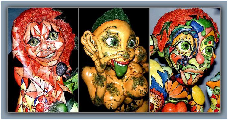 """Collage 3 zum Thema """"Puppen"""""""