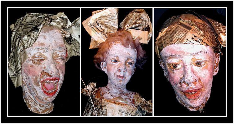 """Collage 5 zum Thema """"Puppen"""""""