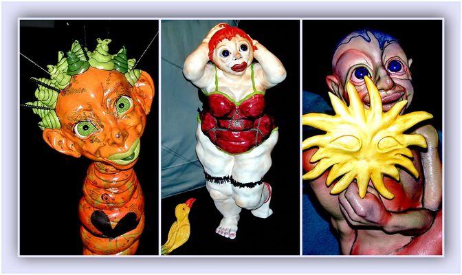 Collage 7 zum Thema Puppen