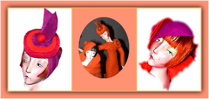 """Collage 9 zum Thema """"Puppen"""""""