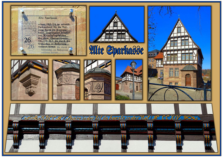 """Collage """"Alte Sparkasse"""" in Heilbad Heiligenstadt"""
