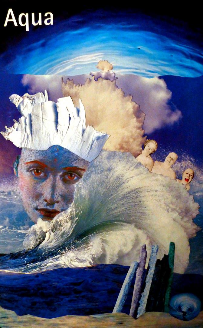 """Collage """"Aqua"""""""