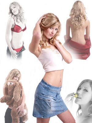 Collage aus 5 Fotos