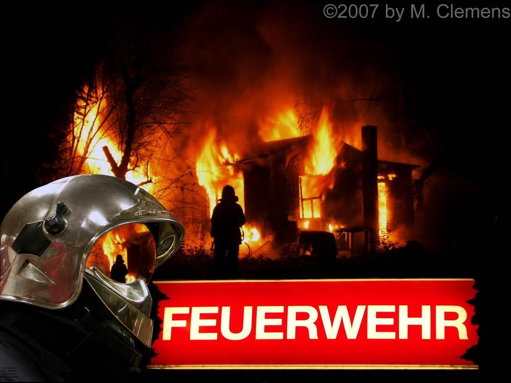 Collage Feuerwehr