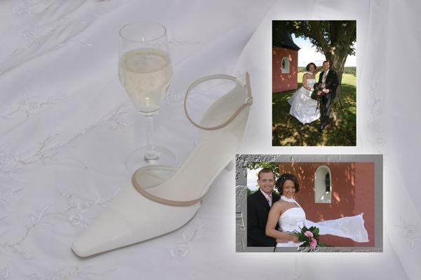 Collage -Hochzeit