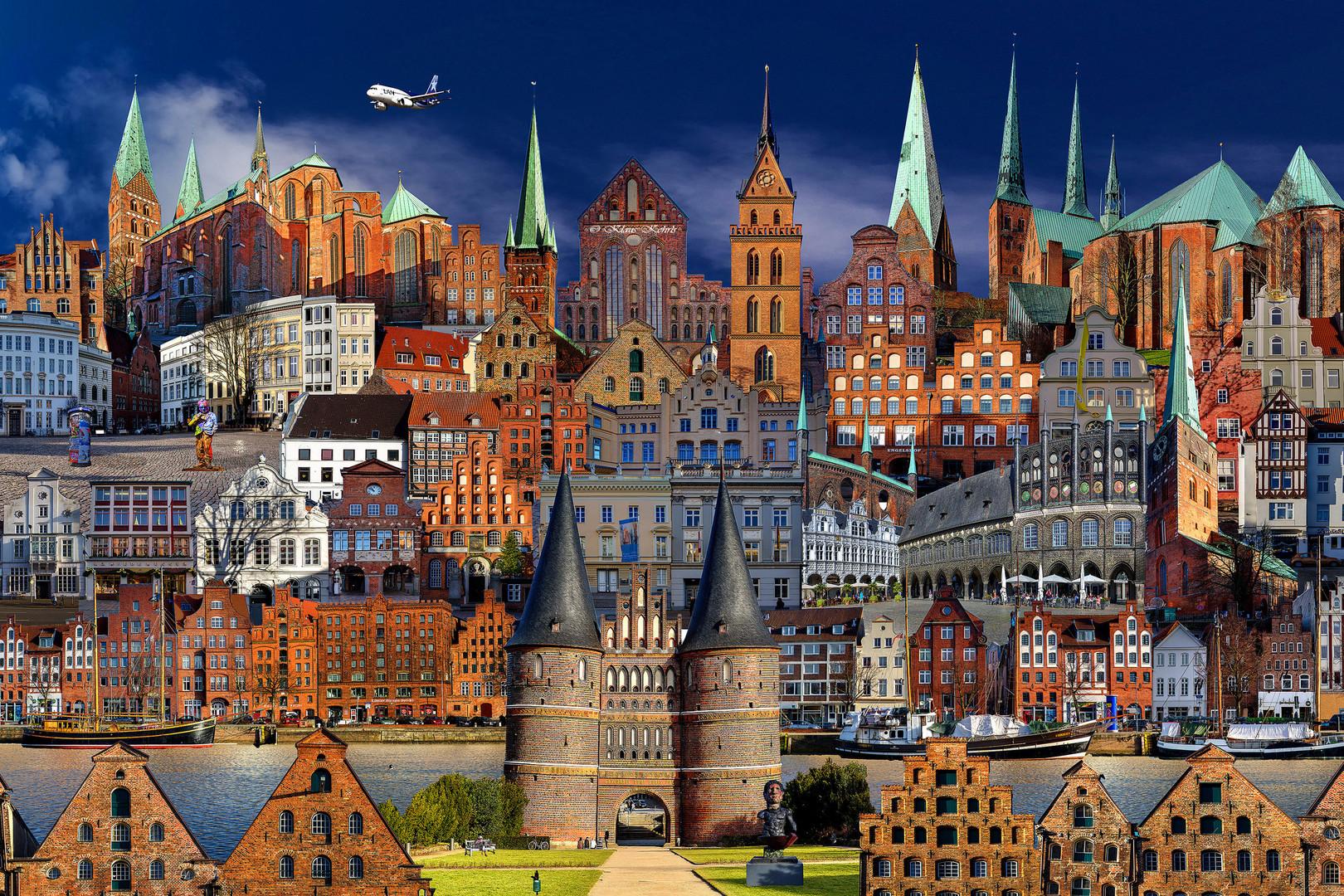 Collage Lübeck