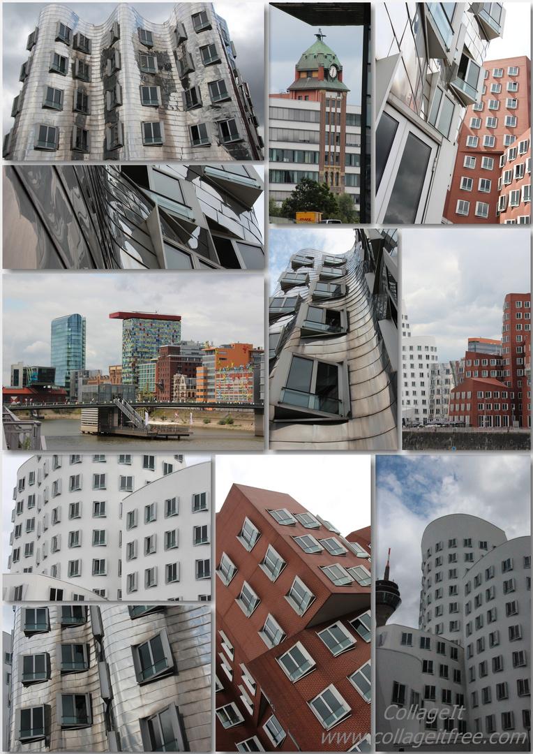 Collage Medienhafen