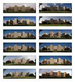 Collage Poelzig-Bau, im Jahr 2007 (13/12)