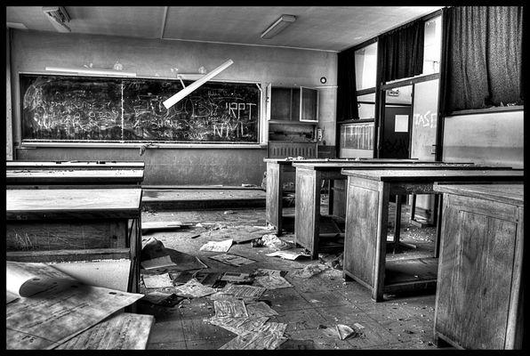 Collège abandonné