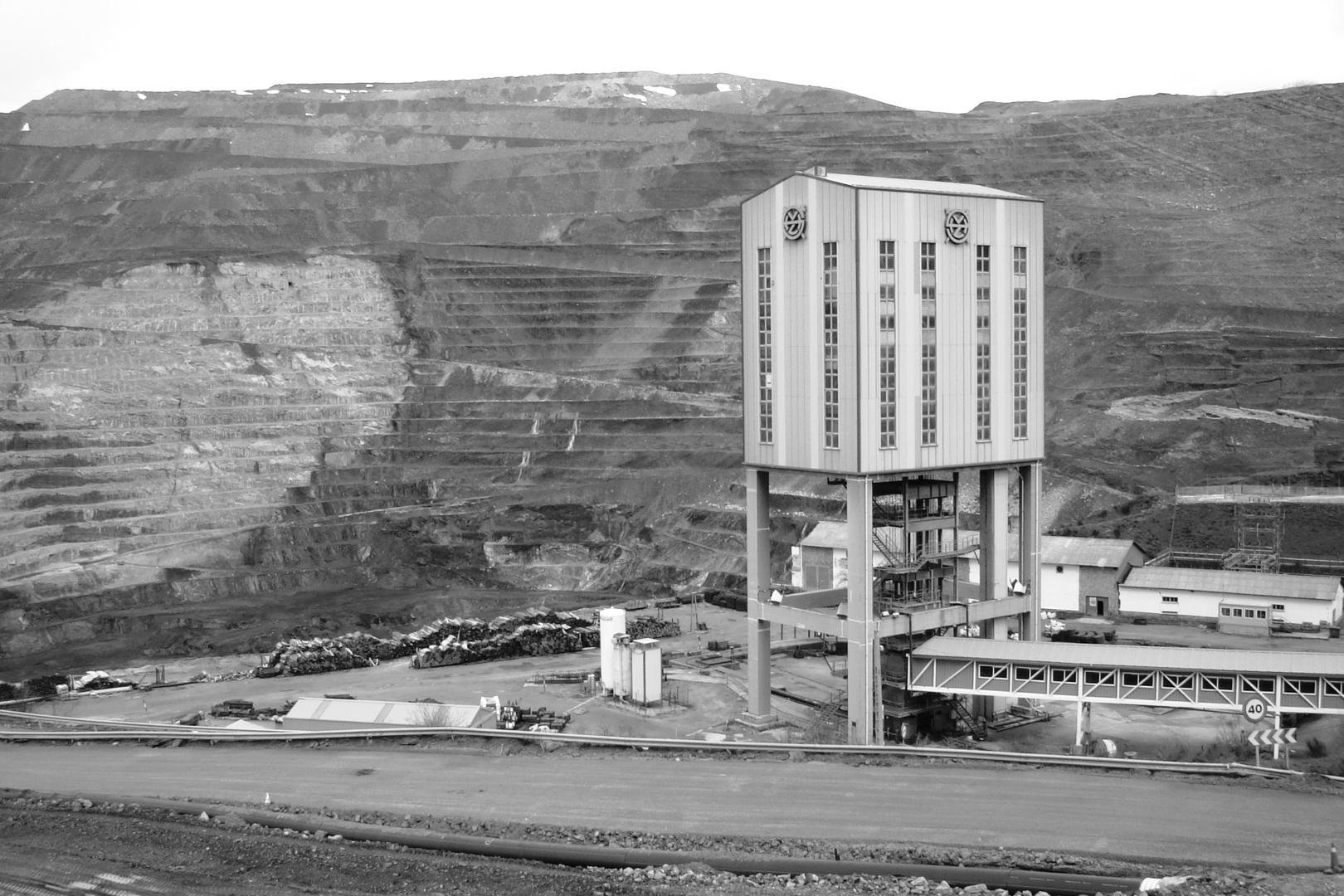 Colliery at Santa Lucía - León; Northern Spain.