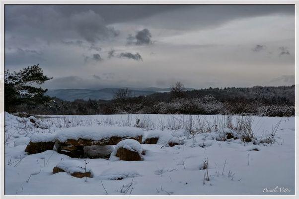 collines Jesselberg en janvier