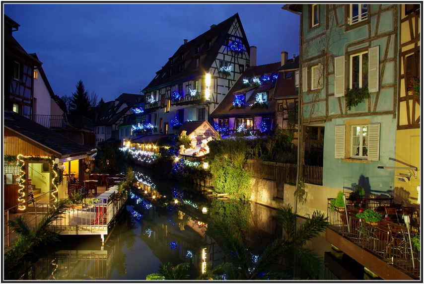 Colmar - la Petite Venise by night