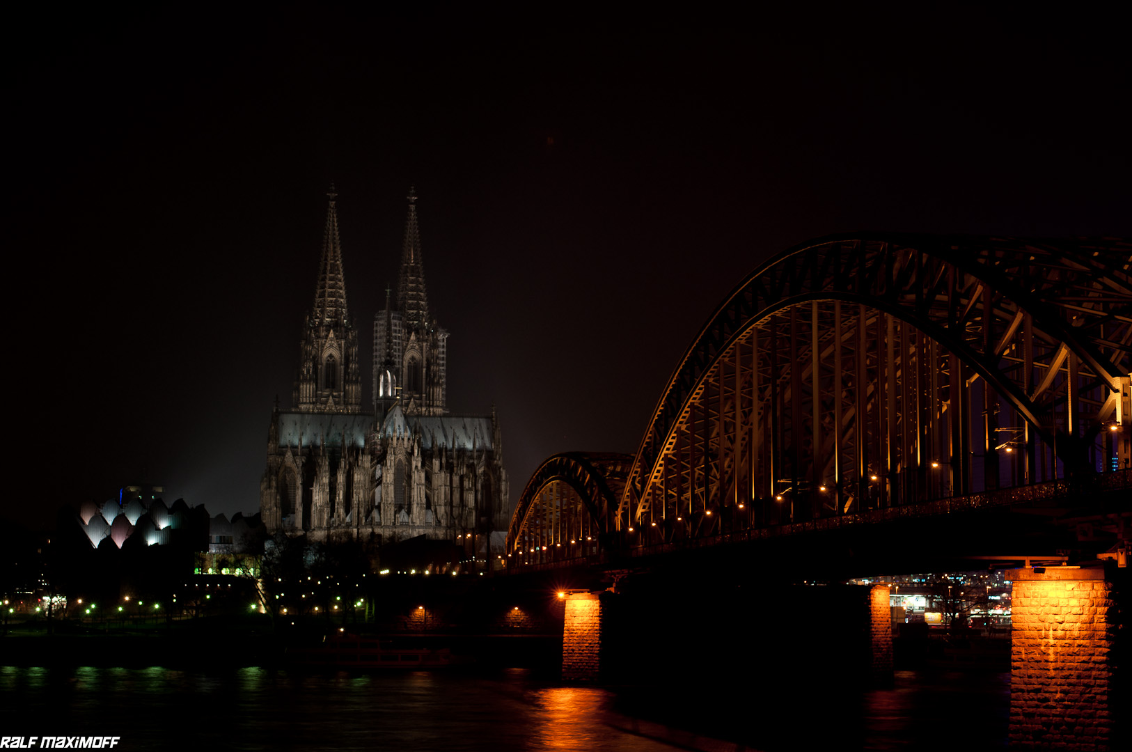 Cologne, Cathedral at Night