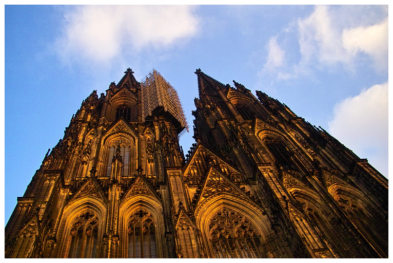 Cologne Cathedral with Cage