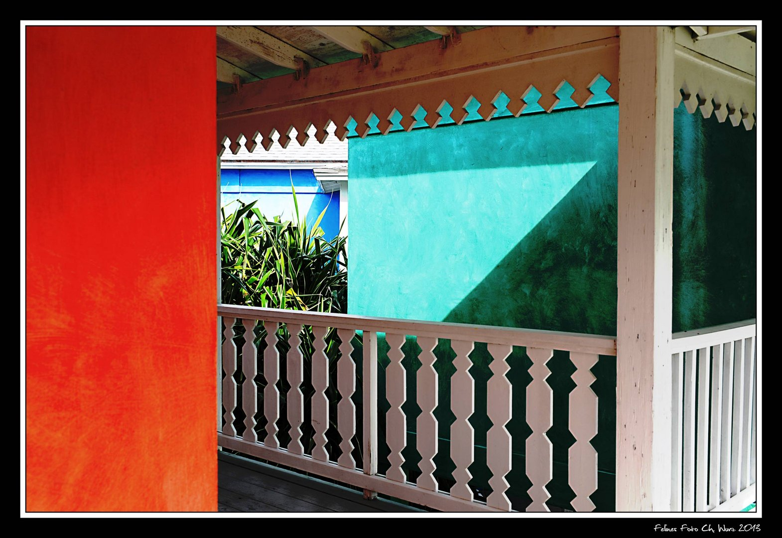 Colombus colored house