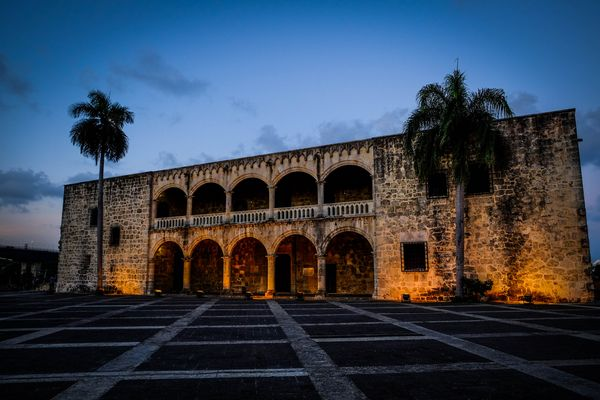 Colonial Palace in Santo Domingo