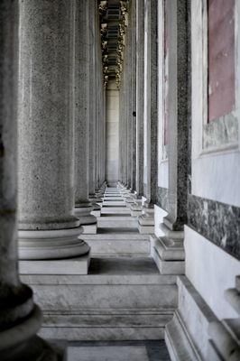 Colonnato Basilica San Paolo fuori le mura - Roma