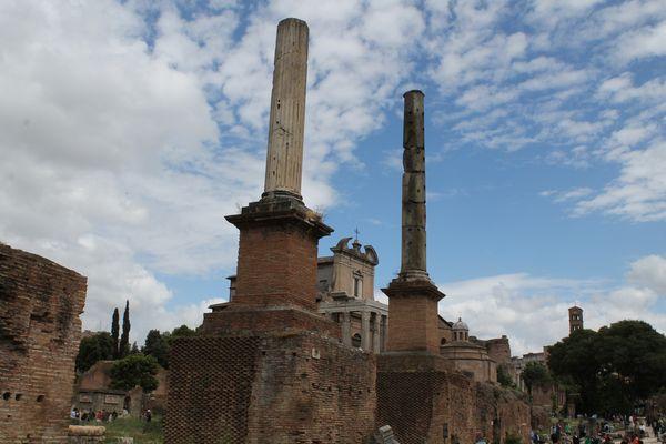 Colonne Onorarie al Foro Romano
