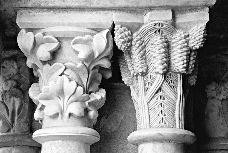 colonnes, detail