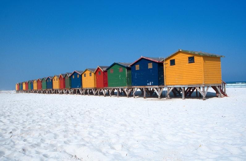 Color Beach Building