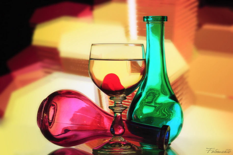 Color in a bottle, farbig