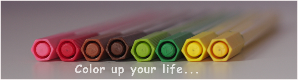 Color up your life...