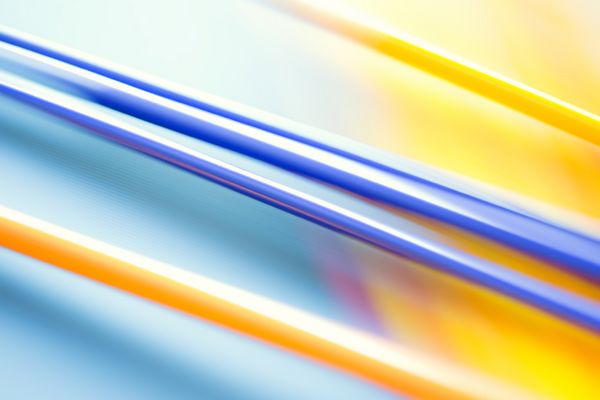 colored glass rods