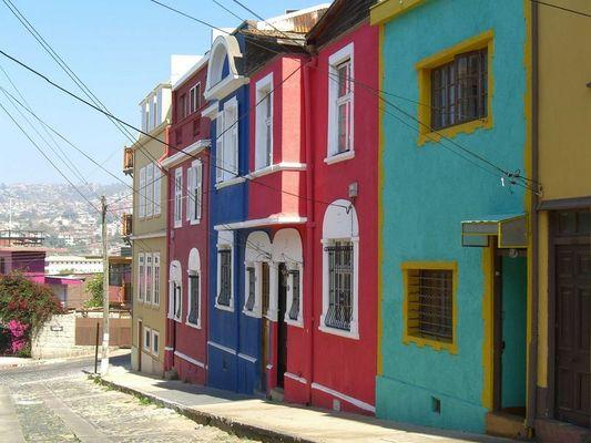 Colored Valparaiso