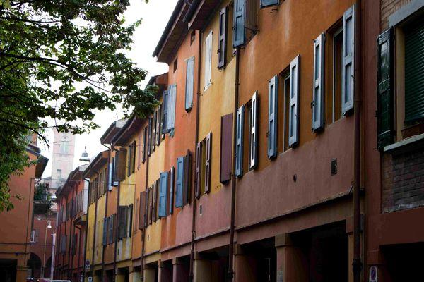 colored windows