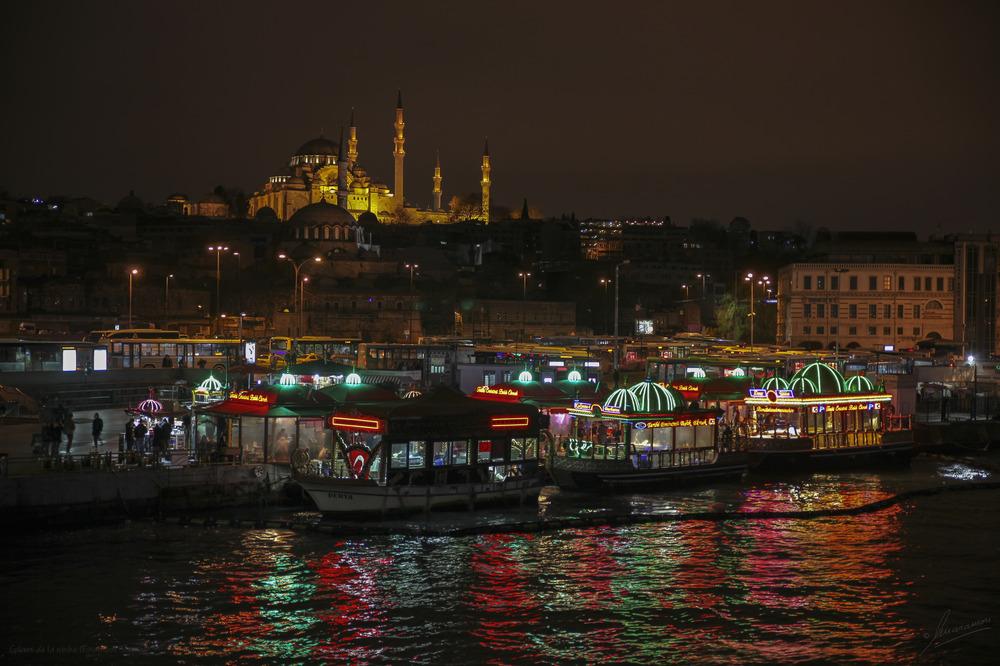 Colores de la noche (Estambul Turquía)