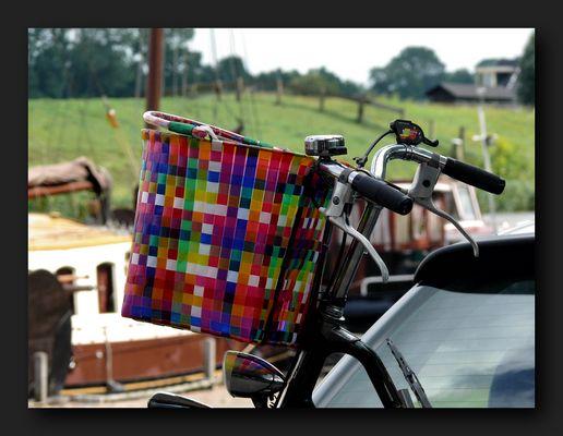 Colorful basket