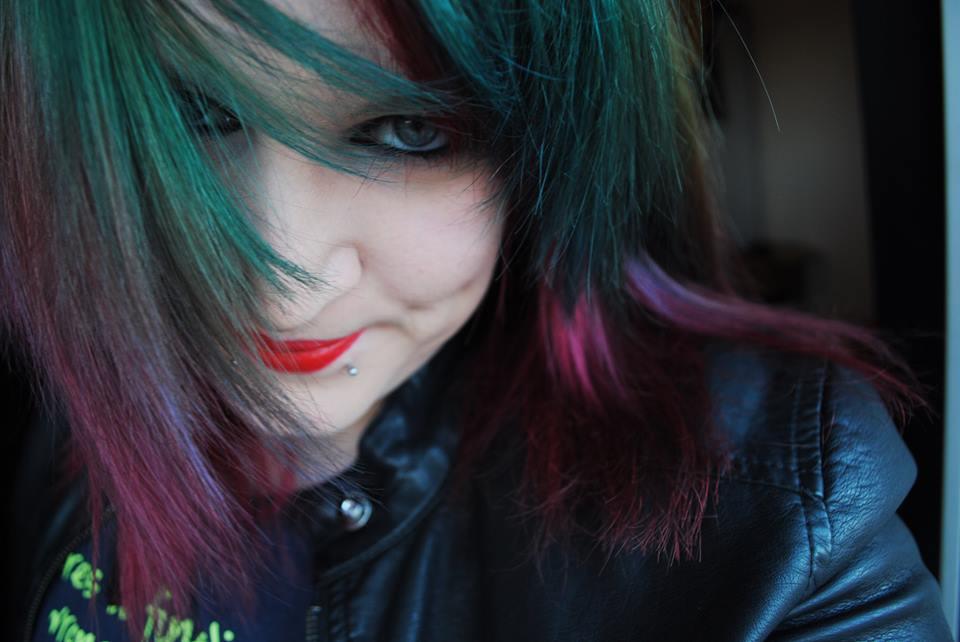 Colorful Self Portrait.