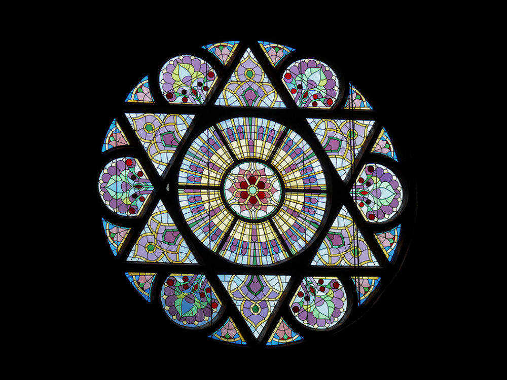 colorful-stain-glass-image-of-a-star-of-