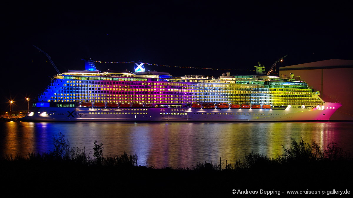 Colorfull Celebrity Reflection
