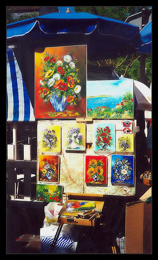 Colori a Montmartre