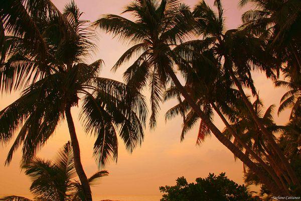 Colori caldi alle Maldive