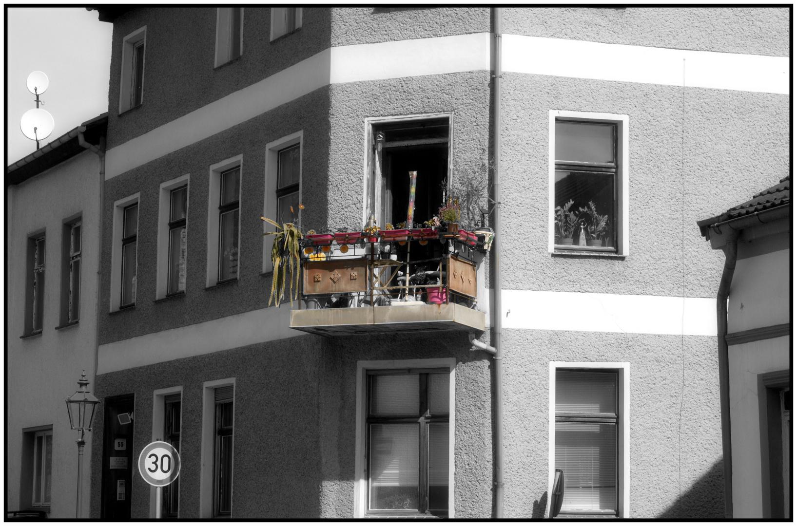 Colorkey Balkon